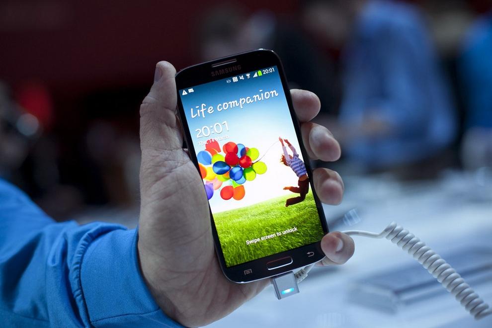 Дебют Samsung Galaxy S4 (12 фото + видео)