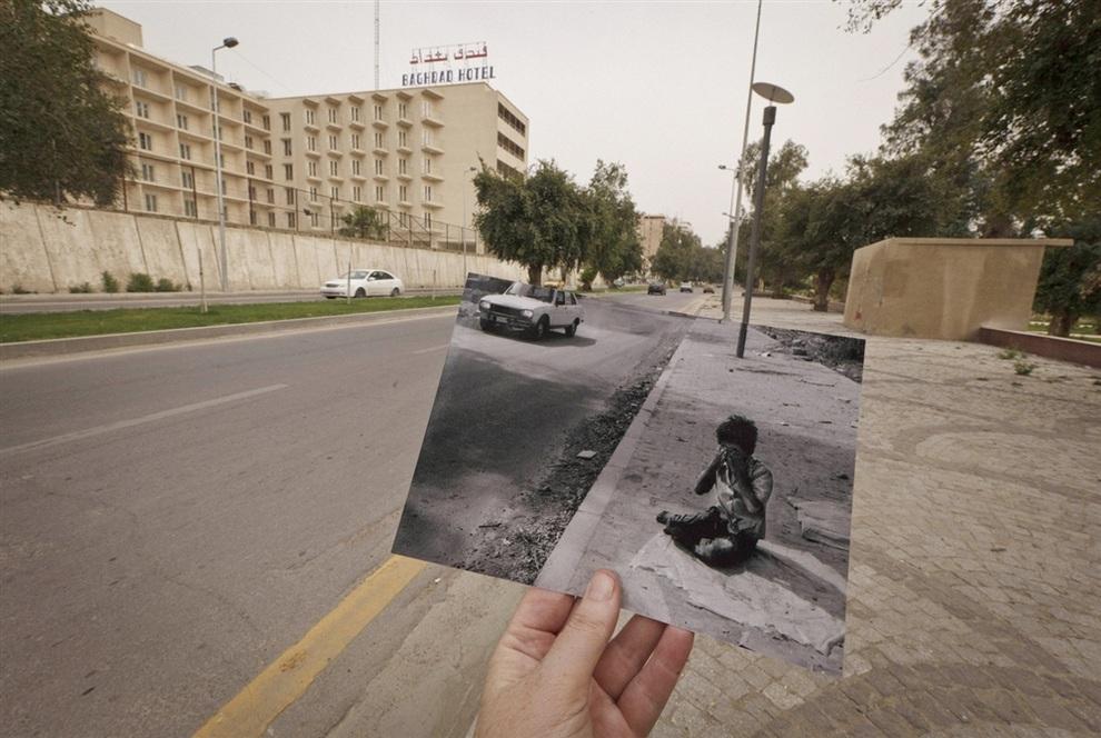 Сцены Иракской войны: Тогда и сейчас (7 фото)