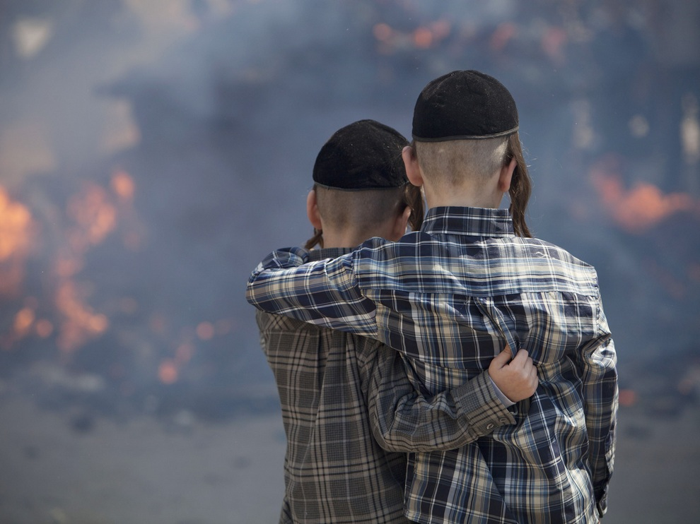 Песах-2013: Сожжение хамеца (15 фото)