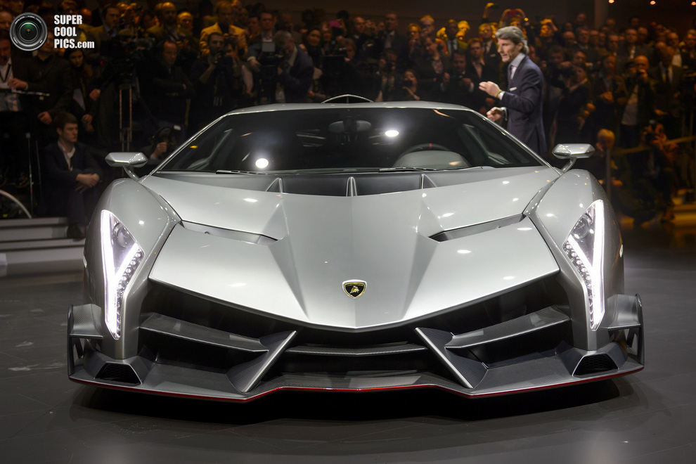 Ferrari LaFerrari и Lamborghini Veneno