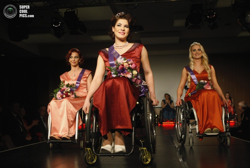 disabled beautiful women