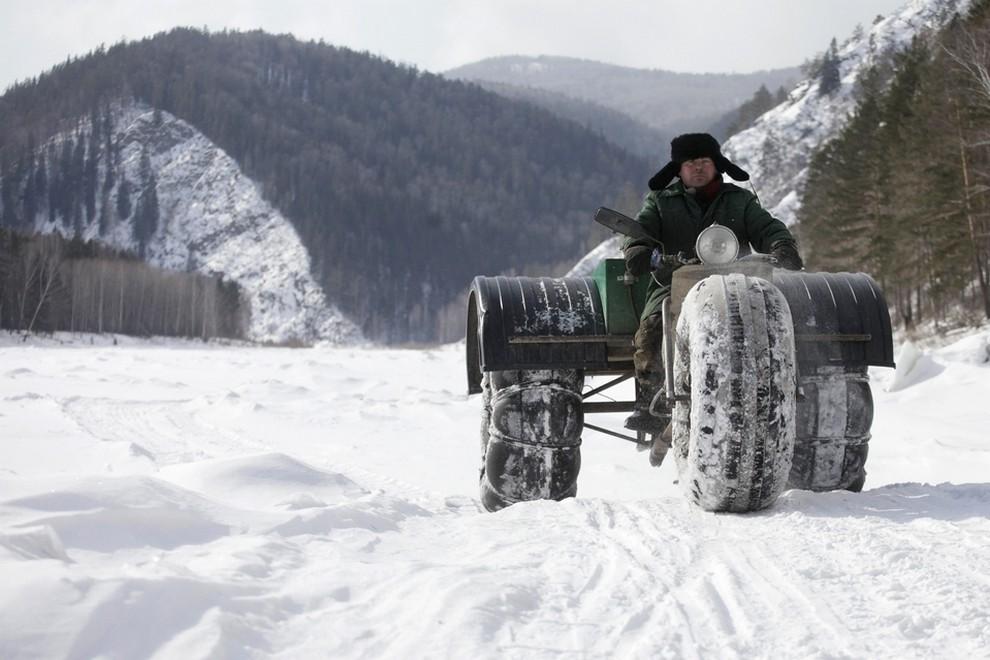 Трёхколёсный внедорожник «Боливар» из Красноярска (6 фото)