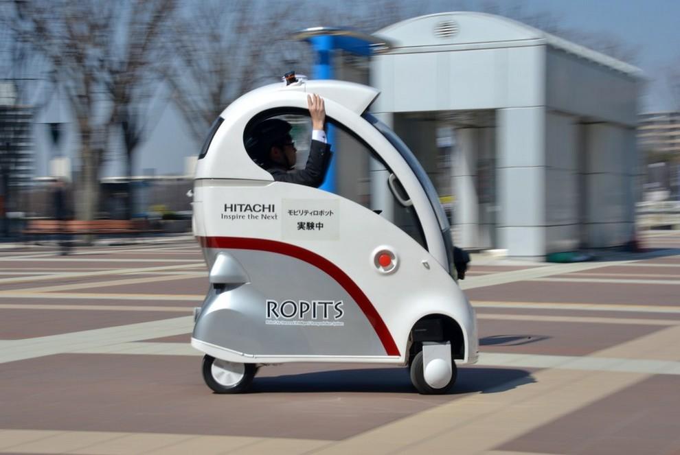 Hitachi ROPITS — транспортный робот будущего (5 фото + видео)