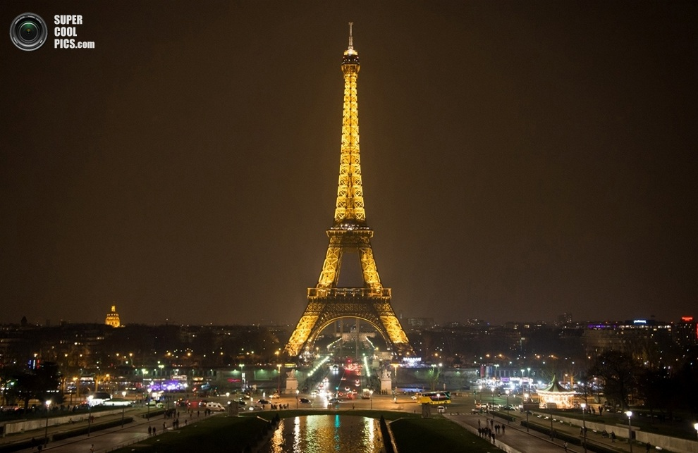 Париж, Франция. (BERTRAND LANGLOIS/AFP/Getty Images)