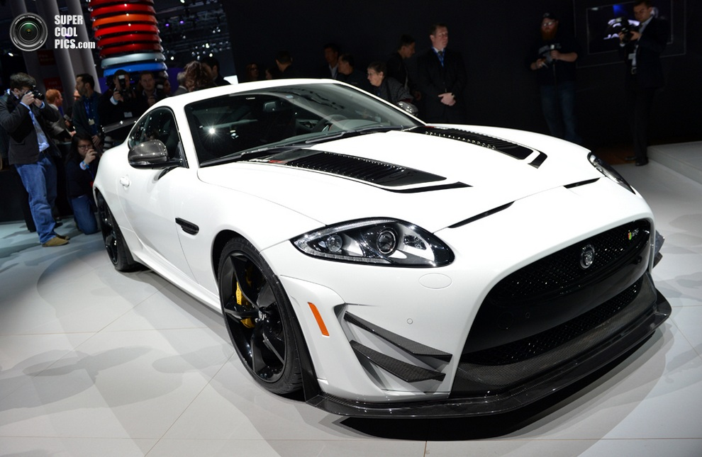 Jaguar XKR-S GT. (STAN HONDA/AFP/Getty Images)