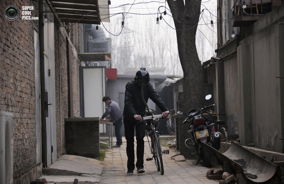 Велосипед Мэтта Хоупа. (REUTERS/Petar Kujundzic)