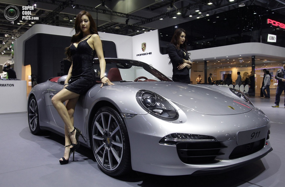 Porsche 911. (Chung Sung-Jun/Getty Images)