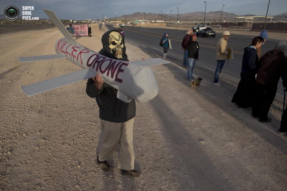 «Дрон-убийца». (AP Photo/Julie Jacobson)