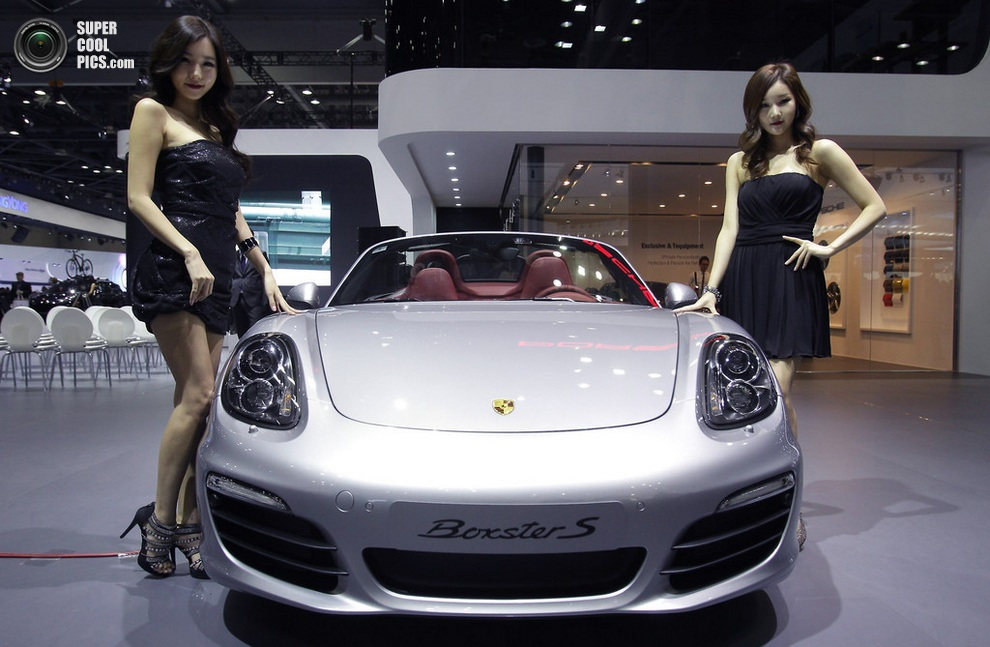 Porsche Boxster S. (Chung Sung-Jun/Getty Images)