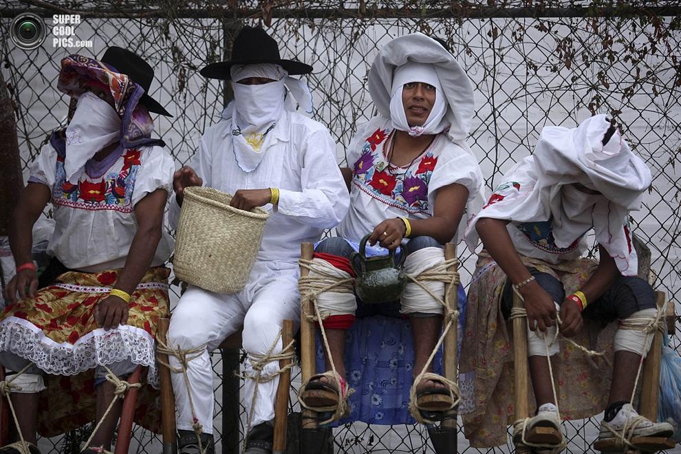 «Лос-Санкудос-де-Саакила». (AP Photo/Felix Marquez)