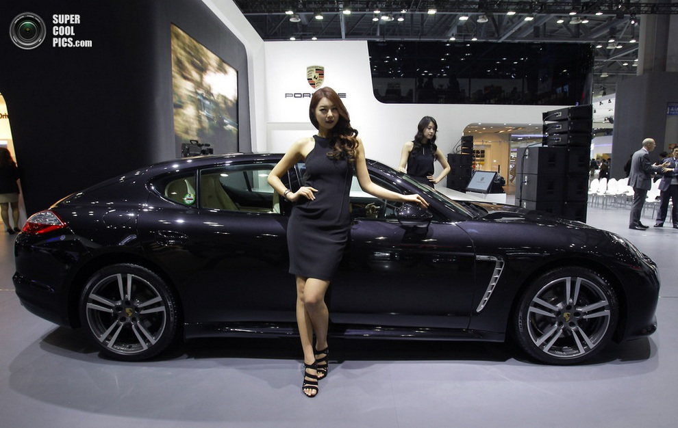 Porsche Panamera Platium Edition. (Chung Sung-Jun/Getty Images)