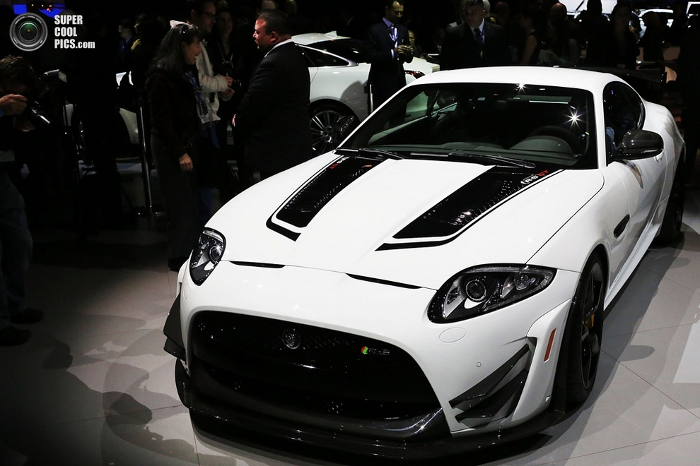 Jaguar XKR-S GT. (SPENCER PLATT/AFP/Getty Images)