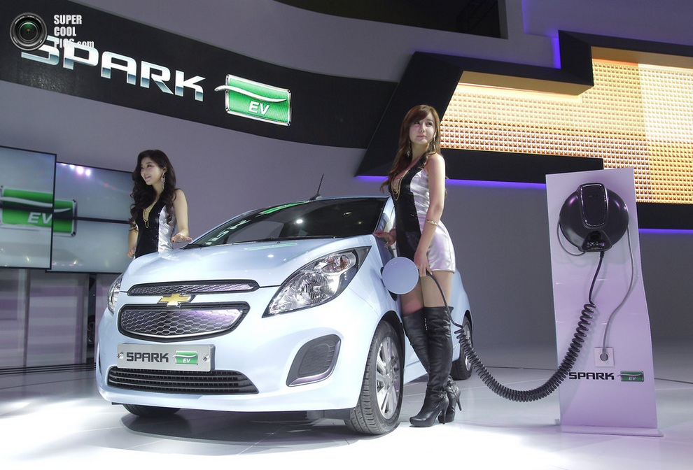 Chevrolet Spark EV. (Chung Sung-Jun/Getty Images)