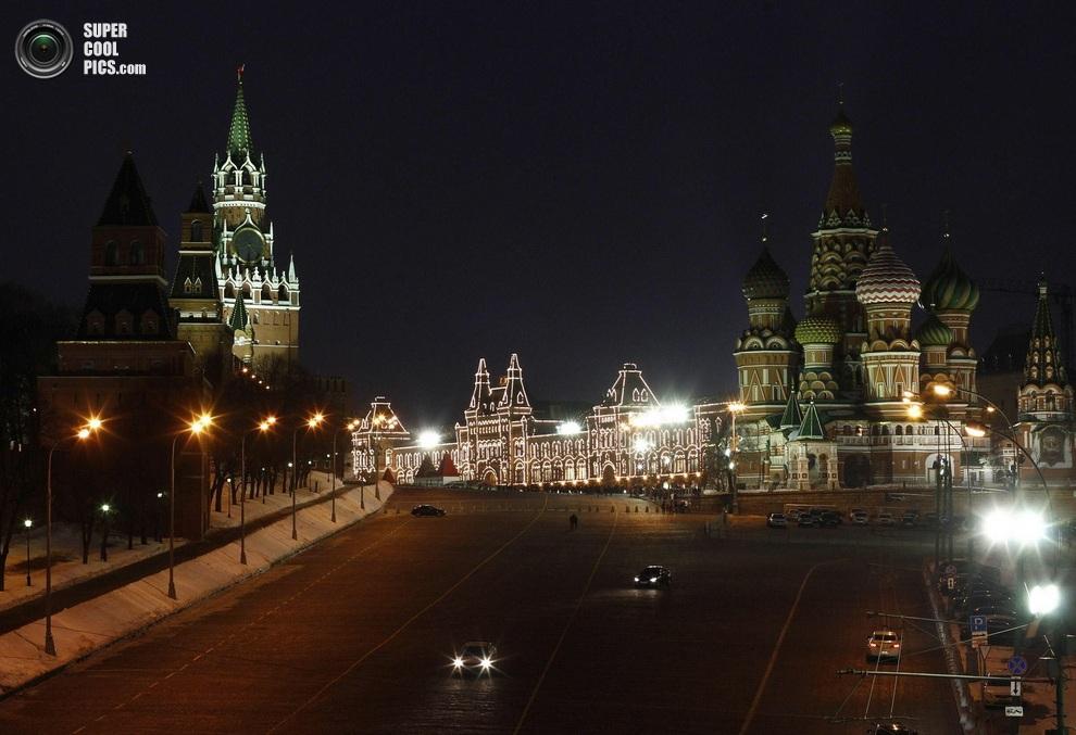 Москва, Россия. (REUTERS/Mikhail Voskresensky)