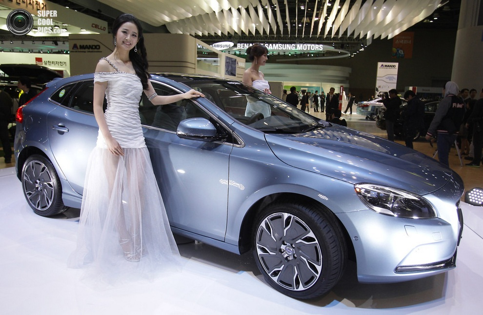 Volvo V40. (Chung Sung-Jun/Getty Images)