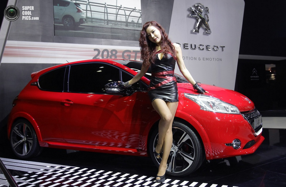 Peugeot 208 GTi. (Chung Sung-Jun/Getty Images)