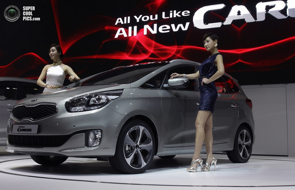 Kia Carens. (Chung Sung-Jun/Getty Images)