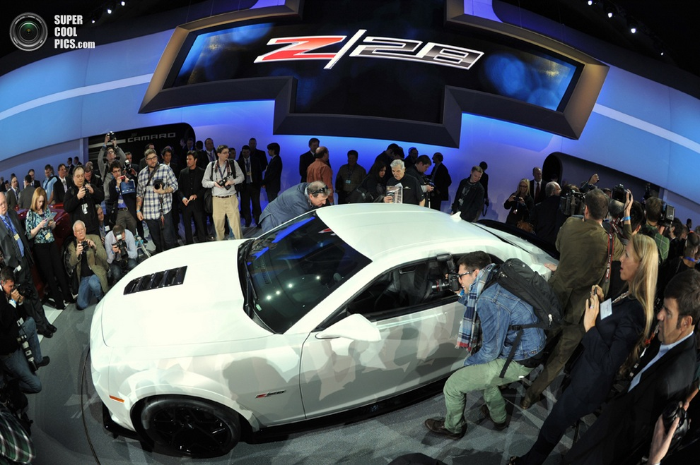 Chevrolet Camaro Z/28. (STAN HONDA/AFP/Getty Images)