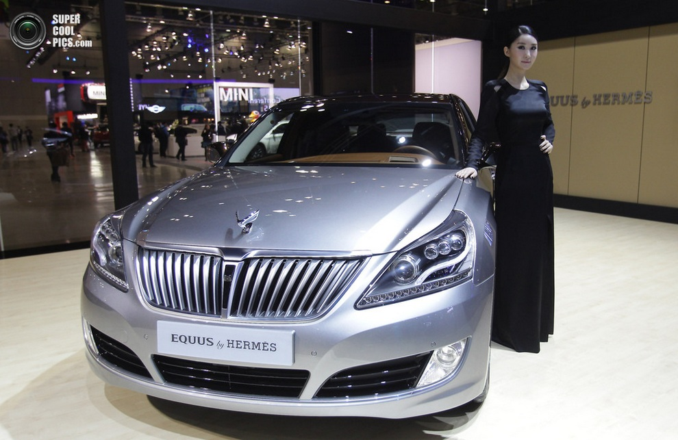 Hyundai Equus by Hermes. (Chung Sung-Jun/Getty Images)
