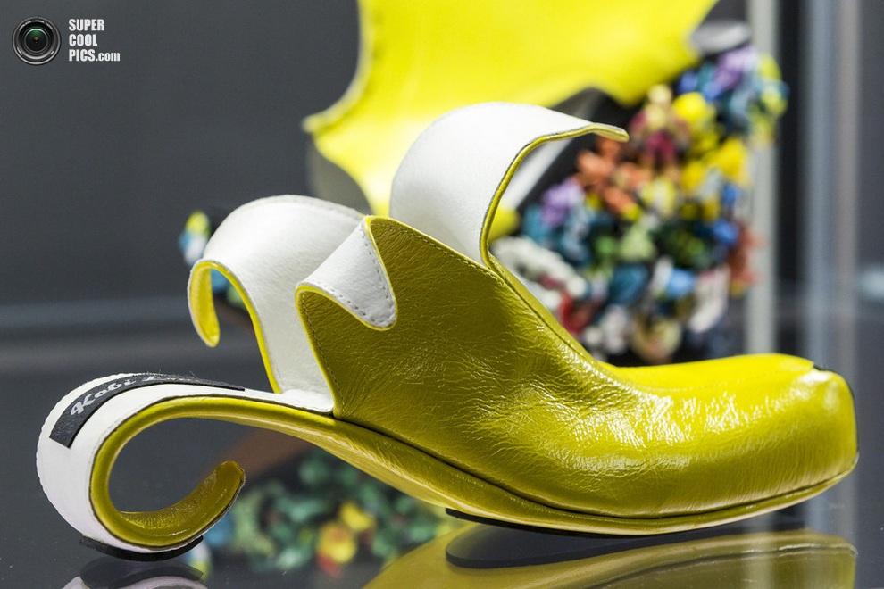«Бананы» Коби Леви, сделанные специально для актрисы Вупи Голдберг. (Joern Haufe/Getty Images)