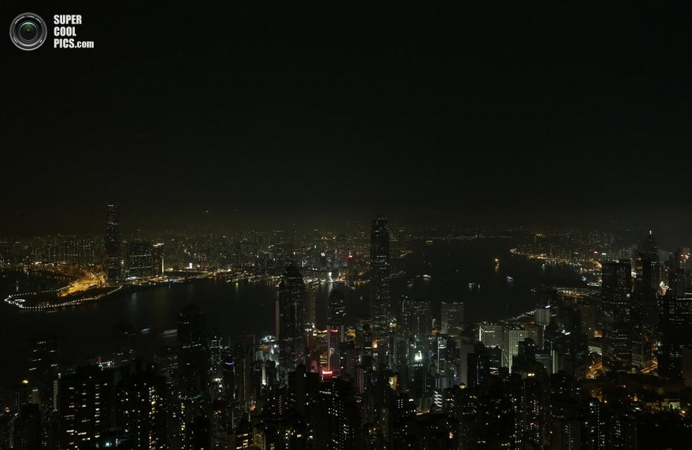 Гонконг, Китай. (AARON TAM/AFP/Getty Images)