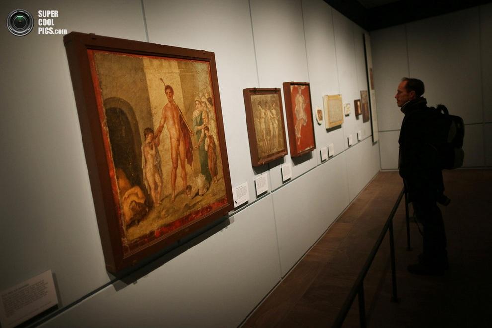 Картина «Тесей и поверженный Минотавр». (Peter MacDiarmid/Getty Images)