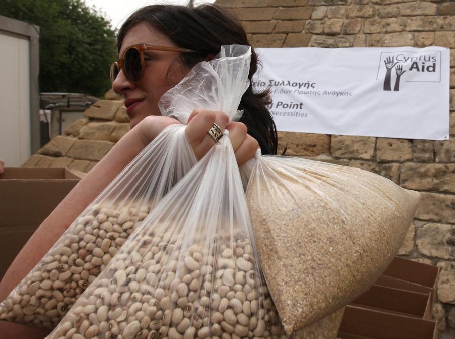 Благотворительная акция «Помощь Кипру» (6 фото)