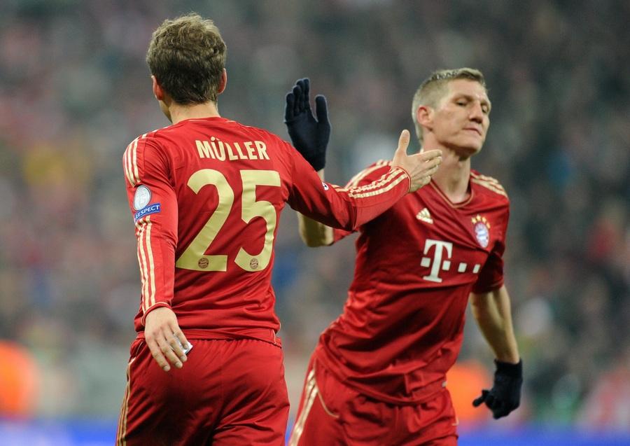 «Бавария» уверенно побеждает «Ювентус» (15 фото)