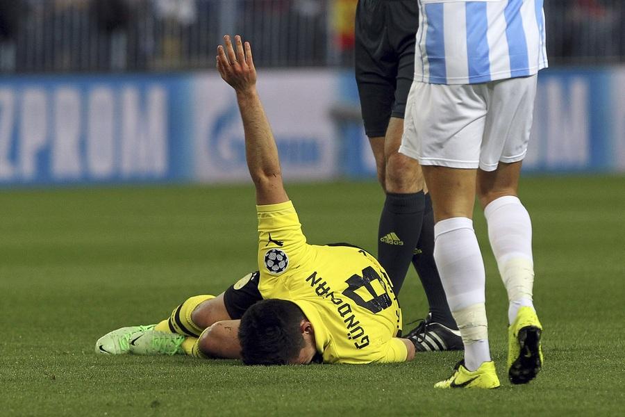 «Малага» и «Боруссия» голов не забивали (20 фото)