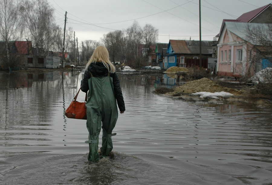 Последствия паводков в Мордовии и Тамбовской области (12 фото)
