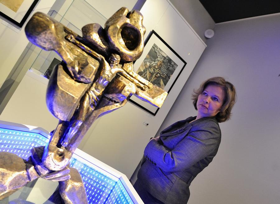 Открытие музея Эрнста Неизвестного в Екатеринбурге (7 фото)