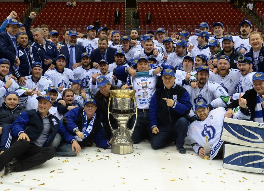 «Динамо» — обладатель Кубка Гагарина 2013! (16 фото)