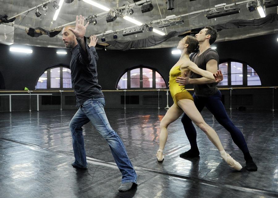 Мастер-класс британского хореографа Дэвида Доусона в Санкт-Петербурге (10 фото)