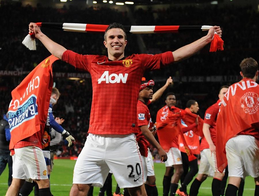 «Манчестер Юнайтед» досрочно стал чемпионом Англии (7 фото)