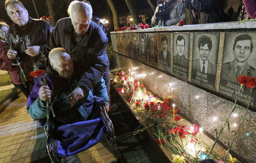 27-я годовщина аварии на Чернобыльской АЭС (10 фото)