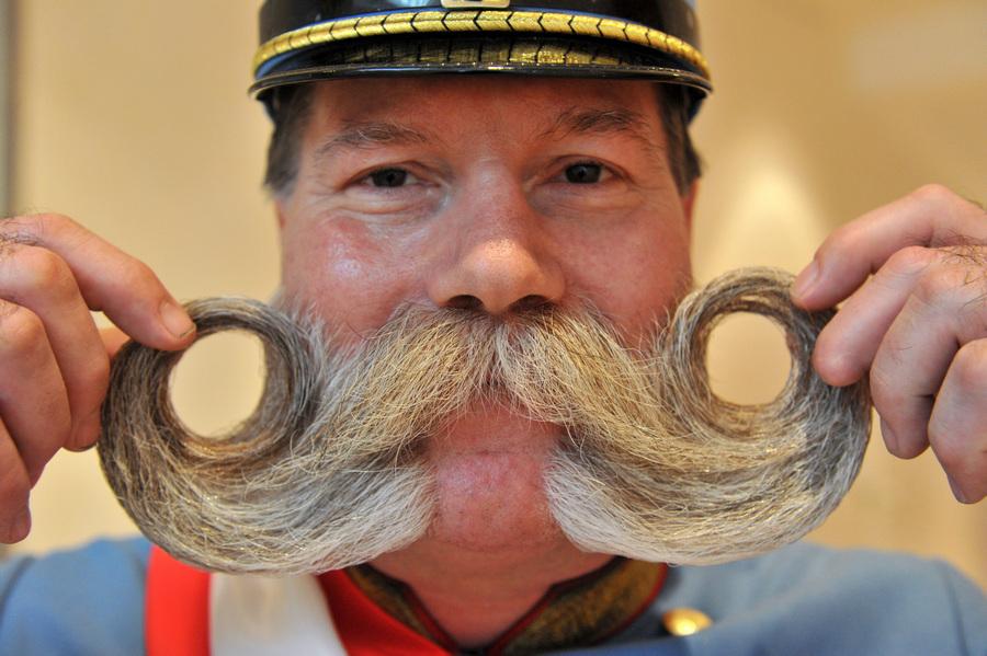 Лица международного чемпионата усов и бород в Германии (5 фото)