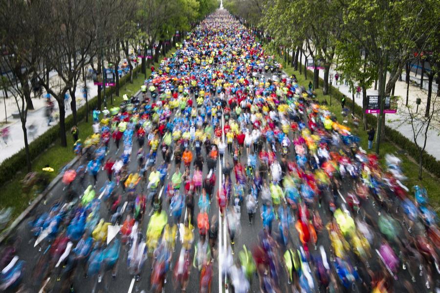 36-й Мадридский марафон: Россиянка Нина Поднебеснова среди призёров (10 фото)