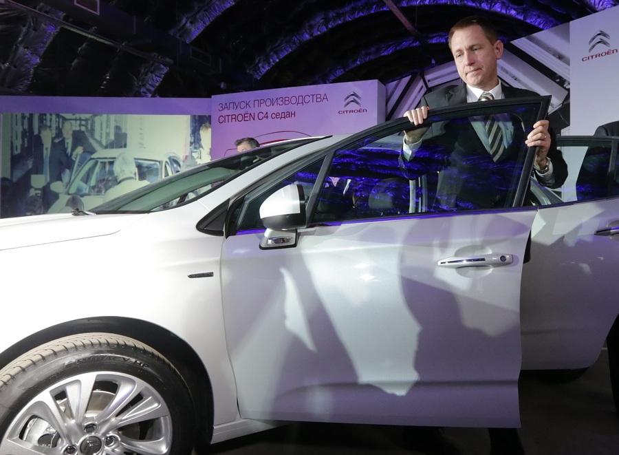 Концерн PSA Peugeot Citroën открыл производство новой версии седана Citroën C4 в России (8 фото)