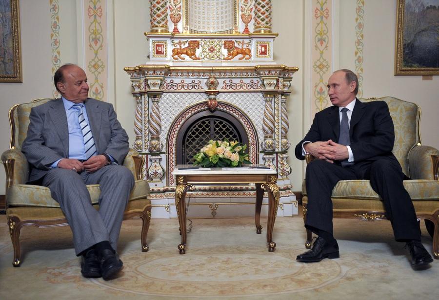 Визит президента Йемена в Москву на встречу с Владимиром Путиным (6 фото)