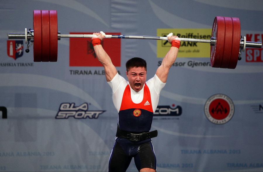 Олег Чен завоевал «золото» на чемпионате Европы по тяжёлой атлетике (4 фото)