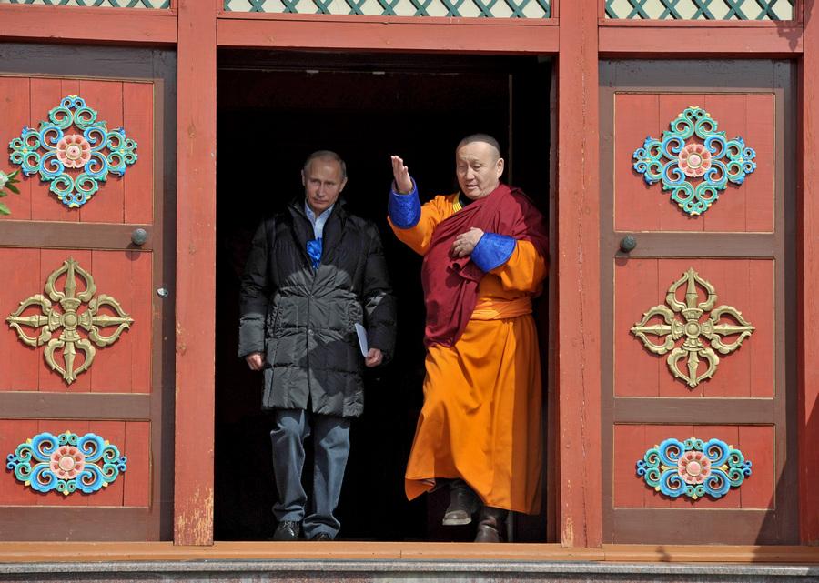 Рабочая поездка президента РФ в Бурятию (10 фото)