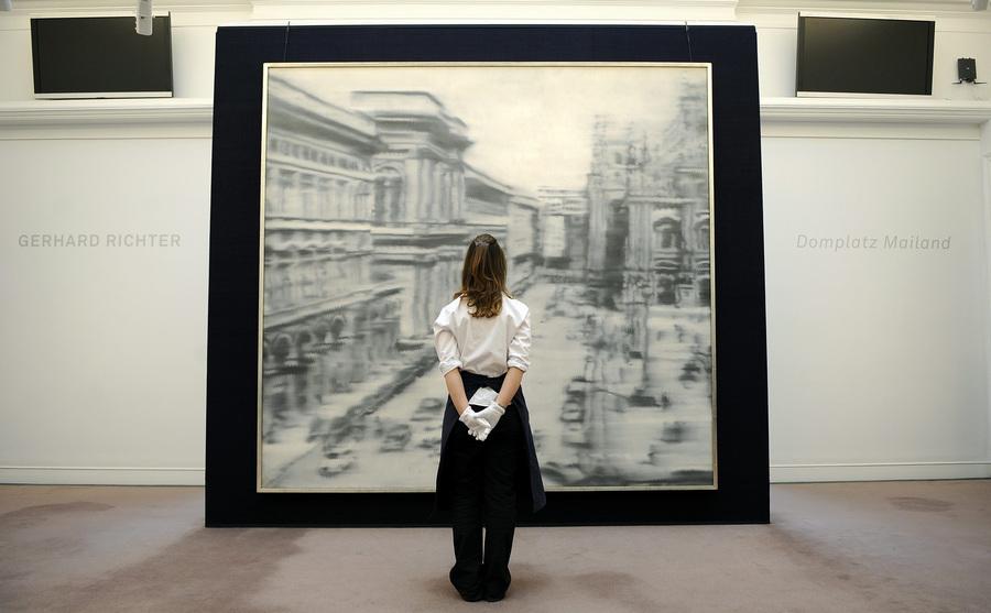 Пресс-показ художественных топ-лотов Sotheby's (5 фото)