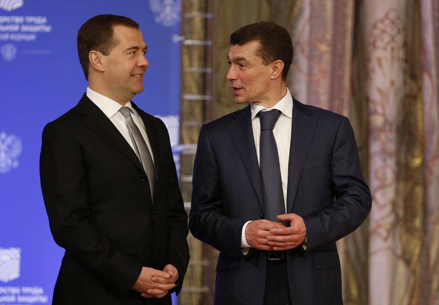 Дмитрий Медведев провёл расширенное заседание коллегии Минтруда (8 фото)