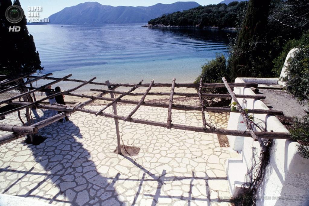 Греция. Скорпиос, Меганиси. Частный остров, купленный российским бизнесменом Дмитрием Рыболовлевым. (EPA/ИТАР-ТАСС/MANOLIS PATAKAKIS)