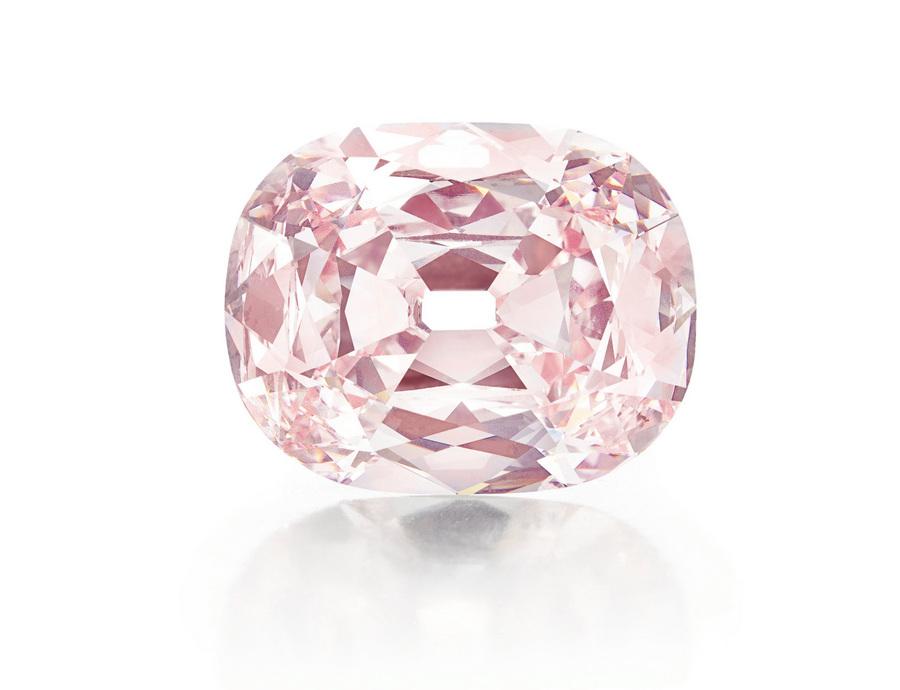 Розовый бриллиант продан на торгах Christie's за 39,3 млн долларов