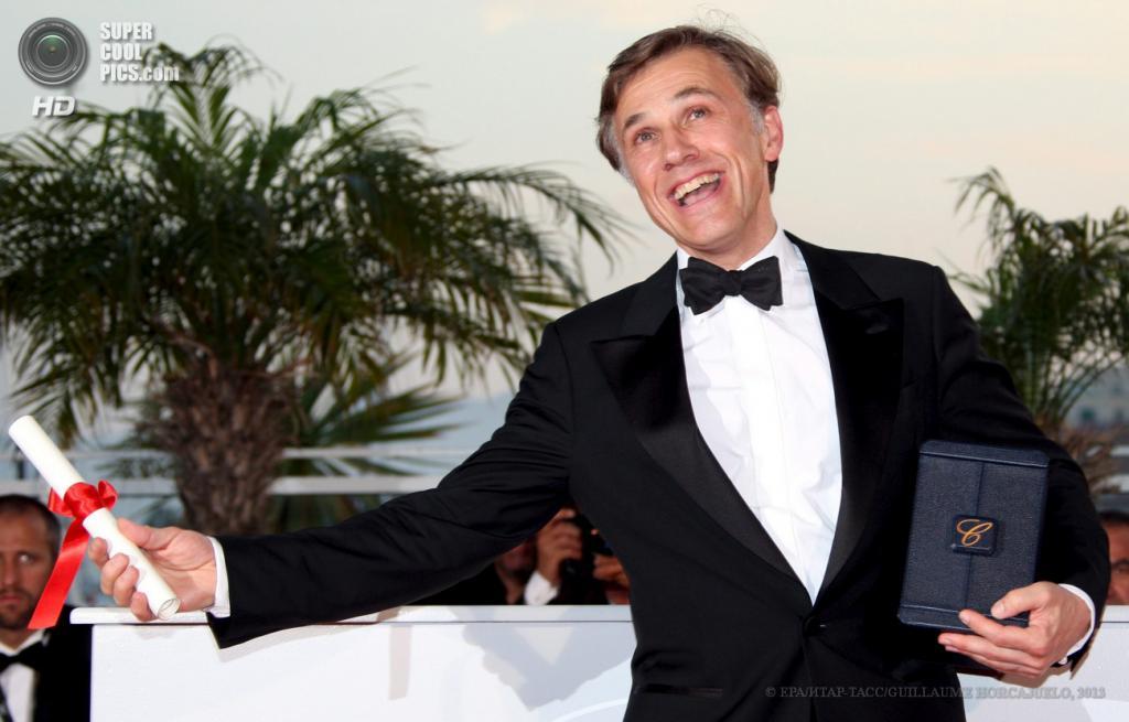 Австрийский актёр Кристоф Вальц. (EPA/ИТАР-ТАСС/GUILLAUME HORCAJUELO)