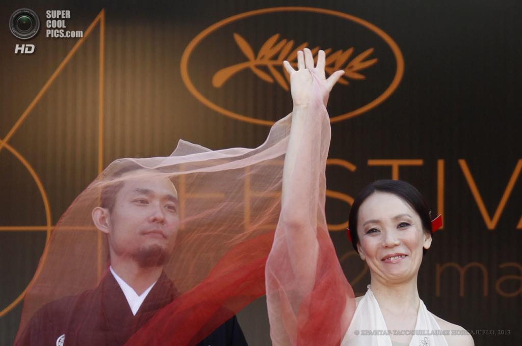 Японский режиссёр Наоми Кавасэ. (EPA/ИТАР-ТАСС/GUILLAUME HORCAJUELO)
