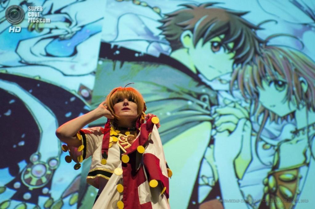 Швейцария. Монтрё, Во. 31 марта. Косплей фестиваля аниме и манги Polymanga 2013. (EPA/ИТАР-ТАСС/JEAN-CHRISTOPHE BOTT)