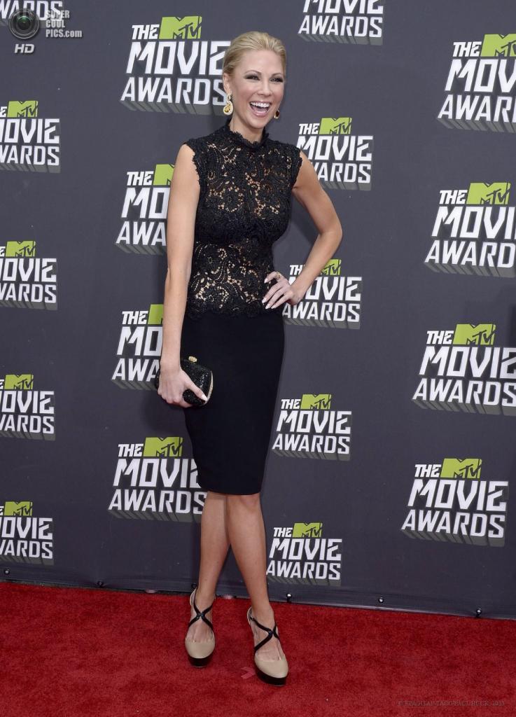 США. Калвер-Сити, Калифорния. 14 апреля. Американская актриса Дези Лайдик. (EPA/ИТАР-ТАСС/PAUL BUCK)