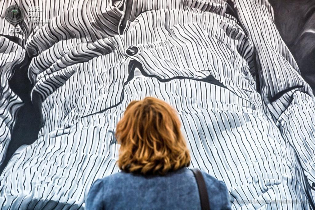 Бельгия. Брюссель. 18 апреля. Выставка работ Ринус Ван де Вельде. (EPA/ИТАР-ТАСС/JULIEN WARNAND)